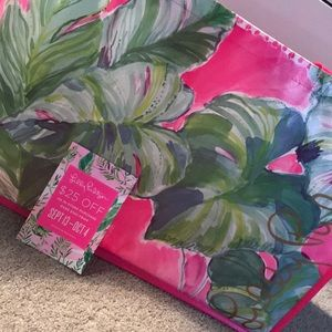 NWOT Large Lilly Pulitzer Tote WITH COUPON